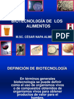 Biotecnologia Definicion - Historia