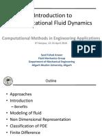 Introduction to Computational Fluid Dynamics_SF Anwer