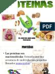 4 Clase Macro Nutientes Proteínas