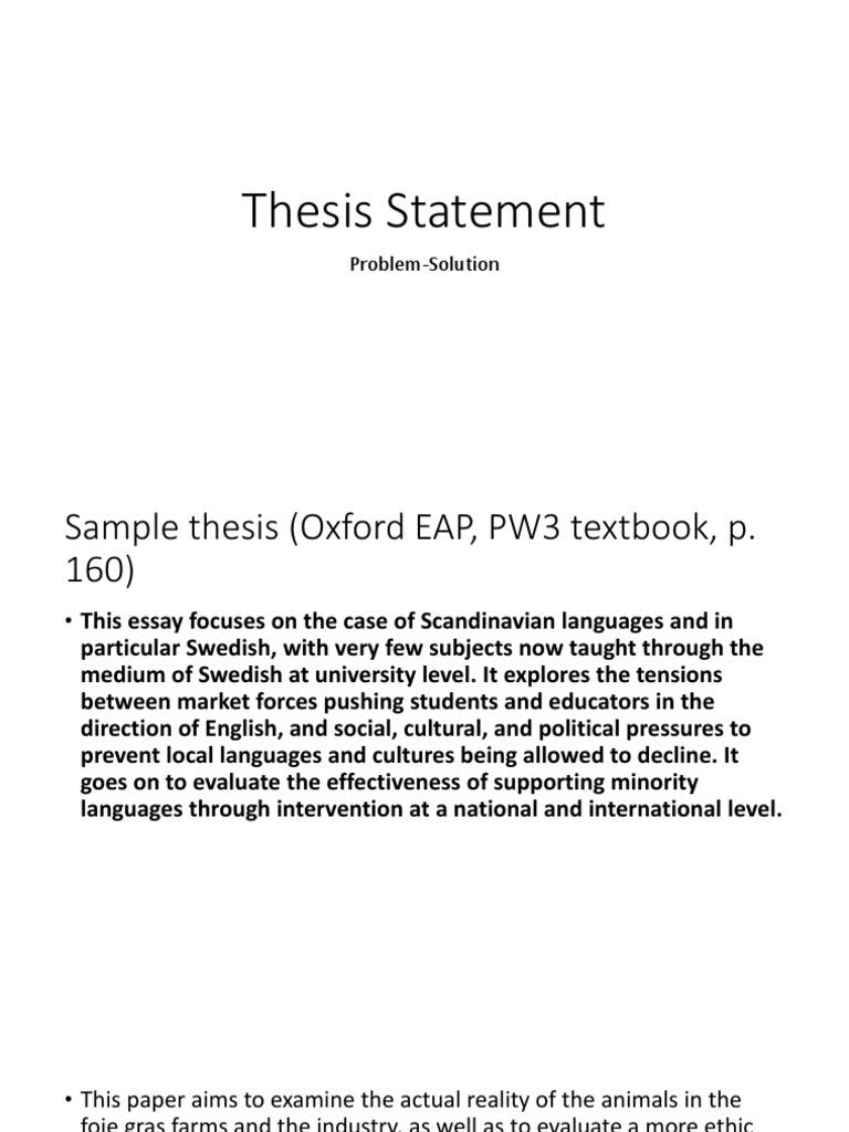 Term paper steps