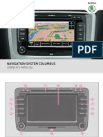 Yeti Columbus Navigation System Manual