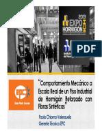 13 05 09 PAV SEM 19 Paolo Chioma Comport Mecanic PI de Ho Reforza2 Fibra Sintetic EPC