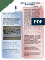 Newsletter 11 9 17