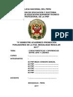 Monografia Caracteristicas y Diferencias Entre Jefe y Lideres - A2 Pnp Meza - 2017