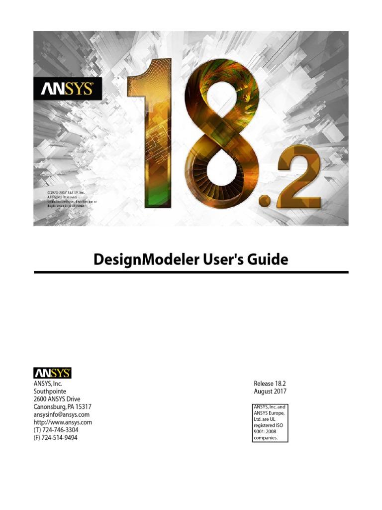 DesignModeler Users Guide | Trademark | Menu (Computing)