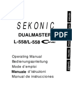 MANUAL SEKONIC L-558 y L-558 CINE (en espa+¦ol, nos ayuda a traducir el nuestro)