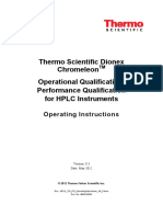 HPLC OQ PQ OperatingInstructions