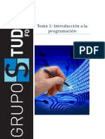 PR-TEMA1 Introducción a La Programación