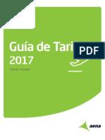 Guía de Tarifas de Aena 2017
