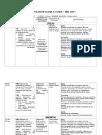 Planificación 1° básico  ARTES 2° semestre