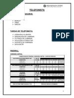 Manual de Telefonista.