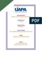 Unidad 1-Español 1 La Comunicacion Humana