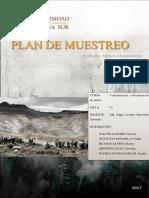 Plan de Muestreo Chaquicocha
