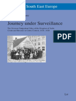 Journey Under Surveillence Emigrantion Between Wars