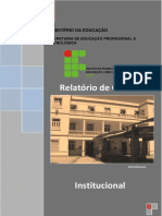 2010 - Relatório de Gestão Institucional