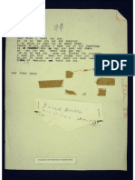 Letter from Young Fan to Vice President Richard Nixon