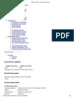 LENOVO 20354 - Geekbench Browser