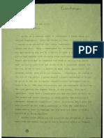 Memorandum to David and Julie Eisenhower
