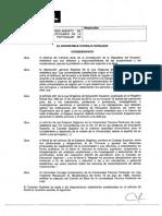 Reglamento de Ética y Régimen Disciplinario