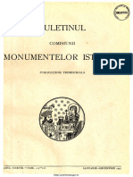 Buletinul Comisiunii Monumentelor Istorice 1945 Anul XXXVIII