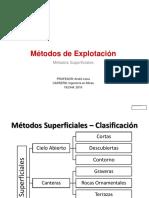 3. Métodos Superficiales