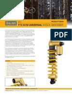 Ohlins DTC Produt manual