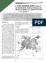 4 El Uso de La Viga Benkelman Para El Monitoreo de Las Secciones Estructurales de Pavimentos Flexibles Durante La Construcción