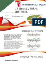 Drenaje Transversal en Carreteras