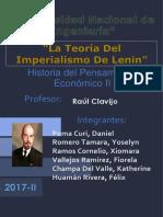 La Teoría Del Imperialismo de Lenin Informe2