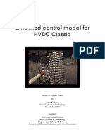 Simplified Control Model for HVDC Classic
