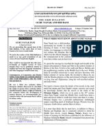 Sikh Bulletin May Jun 2015