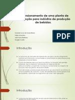 Dimensionamento de Uma Planta de Cogeração Para Indústria