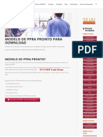 Modelo de Ppra Pronto Para Download