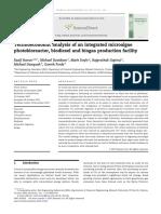 Technoeconomic analysis of an integrated microalgae photobioreactor biodiesel and biogas.pdf