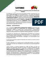 Contrato de Trabajo Para La Construcción Con Período de Prueba Diego Castillo