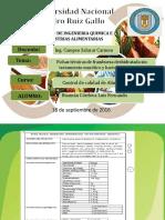 Fichas Tecnicas de Frambuesa Deshidratada y Harina de 4 Semillas