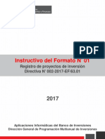 Instructivo Formato 01 Invierte