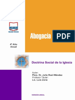 4o Ano Doctrina Social de La Iglesia