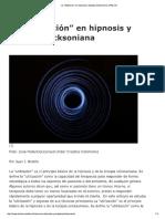 """La """"Utilización"""" en Hipnosis y Terapia Ericksoniana"""