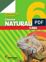 Cs Naturales 6 CABA Docente