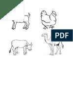 Animals Outline