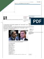 """O Desespero Da Direita Golpista de """"Mercado"""" Com Cenários de 2018 _ Brasil 24_7"""
