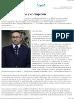 Delitos tributarios y corrupción - EML
