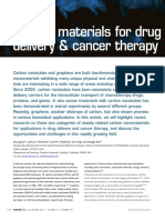 Carbon Materials for Drug