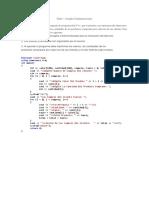 Arreglos Unidimensionales - Programacion