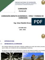 La Corrosión Su Economía Tipos y Formas de Corrosión 2