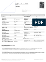 Dta Sheet 6SL3225