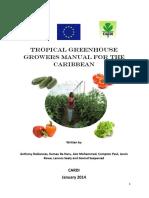 Tropical Greenhouse Growers Manual