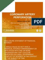 12.4 Coronary Artery Perforation Miftahul Afandi MD FIHA