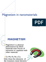 Nano Magnetismo